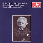 Grieg: Works for Piano Vol 6 / Pompa-Baldi, Mastromatteo