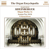 Rheinberger: Organ Works, Vol 6 / Rübsam