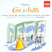 Mozart: Cos&igrave; fan tutte K 588 / Haitink, Vaness, Ziegler, Watson, Aler, Duesing, London PO, et al