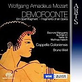Mozart: Demofoonte / Bruno Weil, Cappella Coloniensis