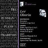 The Russian Piano Tradition - The Igumnov Schjool / Lev Oborin