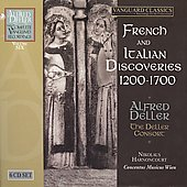 French and Italian Discoveries 1200-1700 / Alfred Deller, Deller Consort, et al