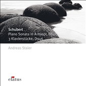 Schubert: Piano Sonata in A minor, D845; 3 Klavierstücke, D946