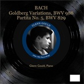 Bach: Goldberg Variations, BWV 988; Partita No. 5, BWV 829