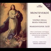 Monteverdi: Vespro della beata vergine SV206