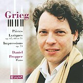 Grieg: Pi&#232;ces Lyriques; Impressions