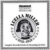 Luella Miller: Complete Recorded Works (1926-1928)