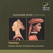 Guillaume Dufay: Chansons