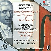 Haydn, Beethoven: String Quartets