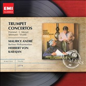 Trumpet Concertos by Hummel, L. Mozart, Telemann & Vivaldi / Maurice Andre