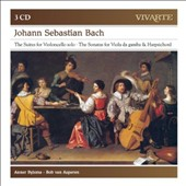 J.S. Bach: Suites for Cello Solo Nos. 1-6; Sonatas for VIola da Gamba & Harpsichord BWV 1027-1029 / Anner Bylsma, cello; Bob van Asperen, harpsichord