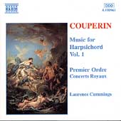 Couperin: Music for Harpsichord Vol 1 / Laurence Cummings