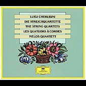 Cherubini: The String Quartets / Melos Quartet