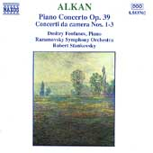 Alkan: Piano Concerto, Concerti da camera no 1-3 / Feofanov