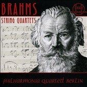 Brahms: String Quartets / Philharmonia Quartett Berlin