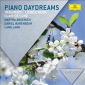 Piano Daydreams - Piano favorites by Satie, Debussy, Chopin, Schumann, Beethoven, Mendelssohn, Grieg, Liszt, and more / Martha Argerich, Daniel Bareboim, Lang Lang