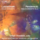 Lutoslawski, Penderecki: Cello Concertos / Thed&#233;en, et al
