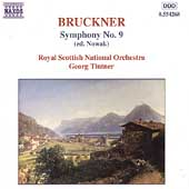 Bruckner: Symphony no 9 / Georg Tintner, et al