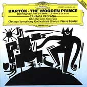 Bartók: The Wooden Prince, etc / Boulez, Chicago SO