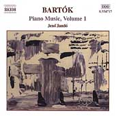 Bartók: Piano Music Vol 1 / Jenö Jandó
