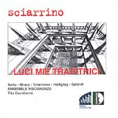 Sciarrino: Luci mie traditrici / Ensemble Risognanze