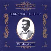 Prima Voce - Fernando de Lucia