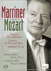 Mozart W.A. / Marriner Conducts Mozart / Patrick Gallois (Flute), Fabrice Pierre (Harp) [DVD]