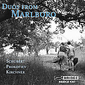 Duos from Marlboro - Schubert, Prokofiev / Serkin, et al
