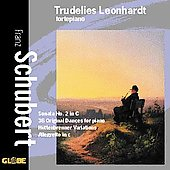 Schubert: Sonata no 2, Dances, etc / Trudelies Leonhardt