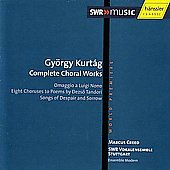 Kurt&aacute;g: Complete Choral Works / Creed, SWR Vokalensemble