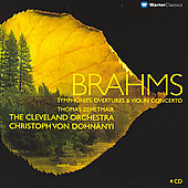 Brahms: Symphonies, Overtures & Violin Concerto / Dohn&aacute;nyi, Lindemann, Cleveland Orchestra