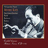 Mindru Katz plays Concert Favorites - Haydn, Beethoven, Brahms, Liszt