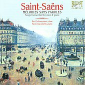 Mélodies sans paroles - Saint-Saëns / Schneemann, Giacometti