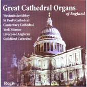 Great Cathedral Organs of England - Handel, Davies, Charpentier, etc / Noel Rawsthorne