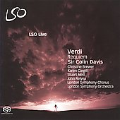 Verdi: Requiem / Colin Davis, Christine Brewer, Karen Cargill, et al