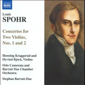 Louis Spohr: Concertos for Two Violins