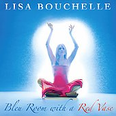 Lisa Bouchelle: Bleu Room with a Red Vase *