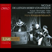 Nicolai: Die Lustigen Weiber von Windsor