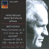 Wilhelm Backhaus Plays Beethoven & Mozart / B&ouml;hm