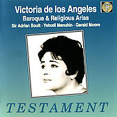 Victoria de los Angeles - Baroque & Religious Arias