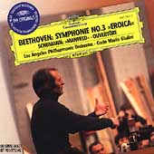 Beethoven: Symphonie no 3;  Schumann: Manfred / Giulini