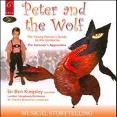 London Symphony Orchestra/Ben Kingsley/Charles Mackerras (Conductor): Peter and the Wolf, Young Person's Guide to the Orchestra, Sorcerer's Apprentice