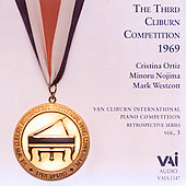 Van Cliburn Competition Retrospectives Vol 3 - 1969