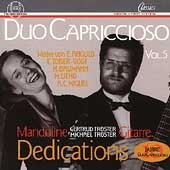 Duo Capriccioso Vol 5 - Dedications / Tröster