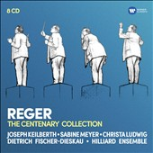 Reger: The Centenary Collection - works for orchestra, chamber ensemble, piano, organ, choir & solo voice / Sabine Meyer, Christa Ludwig, Dietrich Fischer-Dieskau [8 CDs]