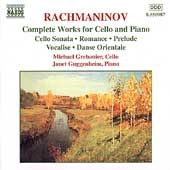 Rachmaninov: Complete Works for Cello and Piano / Grebanier