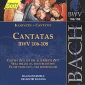 Edition Bachakademie Vol 34 - Cantatas BWV 106-108 / Rilling