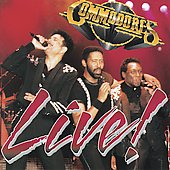 Commodores: Live! [Sound Barrier]