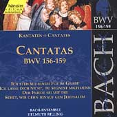 Edition Bachakademie Vol 48 - Cantatas BWV 156-159 / Rilling