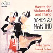 Martinu: Works for Cello and Piano / Krastev, Taskov